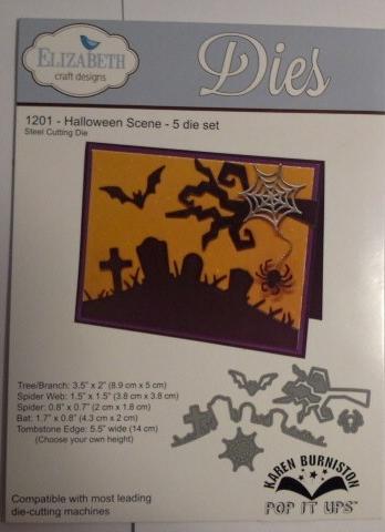 Halloween die set