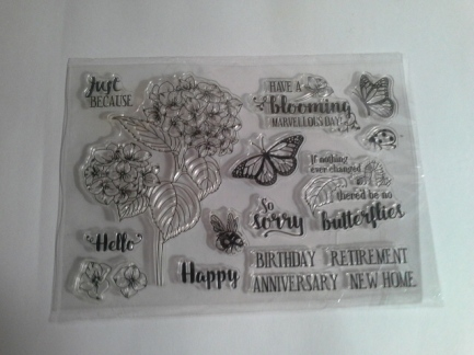Spilt card stamp set