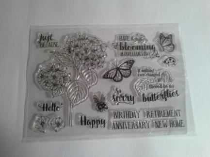 Spilt card stamp set