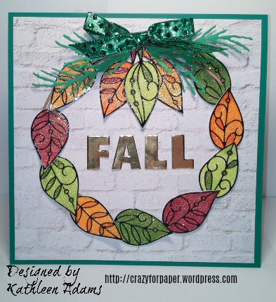 Fall wreath H2O