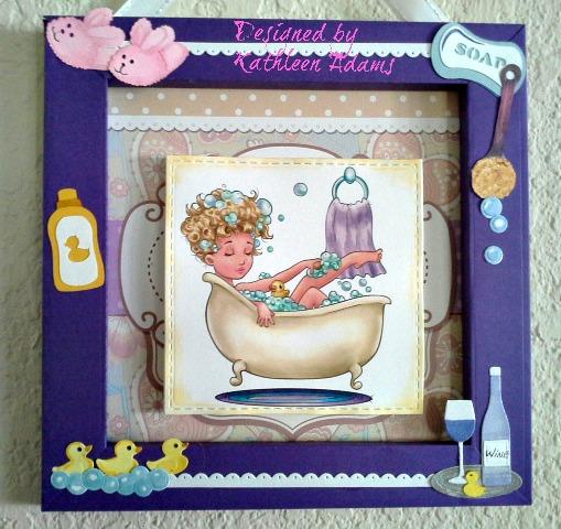 Bath frame close H2O