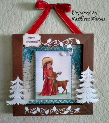 Christmas Frame wall H2O